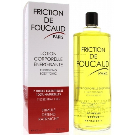 Friction de Foucaud Lotion Energisante 500 ml