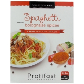 Protifast Spaghetti Bolognaise Epicée 6 Repas Complets