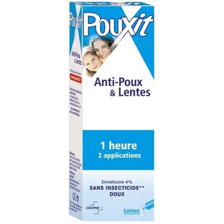 Pouxit Anti-poux & Lentes lotion 100 ml
