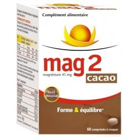 Mag 2 Cacao 60 Comprimés