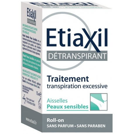 Etiaxil Détranspirant Aisselles Roll-on 15 ml