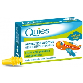 Quies Avion Protection Auditive 1 Paire