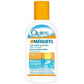 Quies Médusyl Lait Solaire Spf 30 Double protection 120 ml