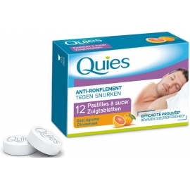 Quies Anti-ronflement Pastilles à Sucer Agrumes x 12