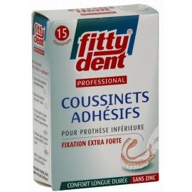 Fittydent Professional Coussinets Adhésifs x 15