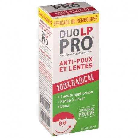 Duo LP PRO Lotion Anti-poux et Lentes 150 ml