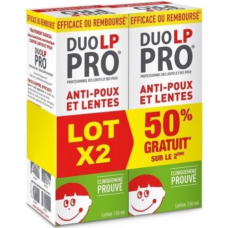 Duo LP PRO Lotion Anti-poux et Lentes 2 x 150 ml
