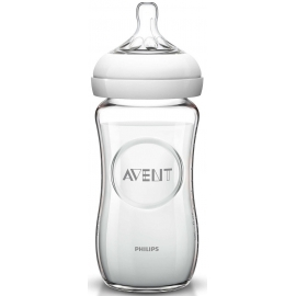 Avent Biberon Natural en Verre 240 ml