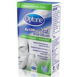 Optone ActiMist 2 en 1 Yeux Fatigués + Inconfort 10 ml