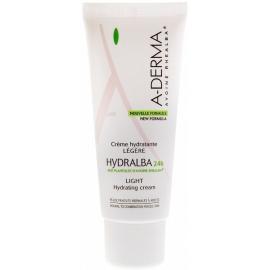 A-Derma Hydralba Crème Hydratante Légère 24h 40 ml