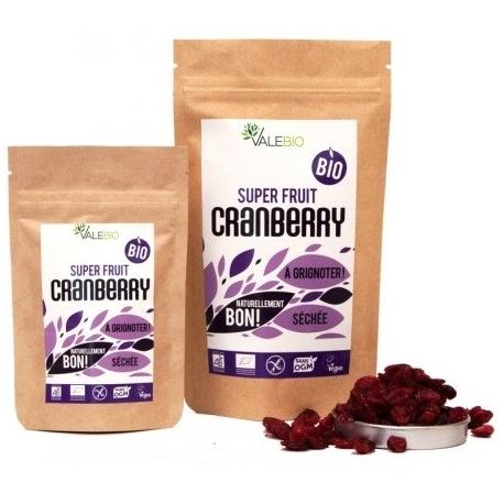 Valebio Super Fruit Cranberry Bio 170 g