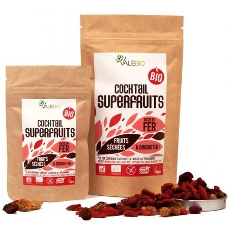 Valebio Coktail SuperFruits Bio 120 g