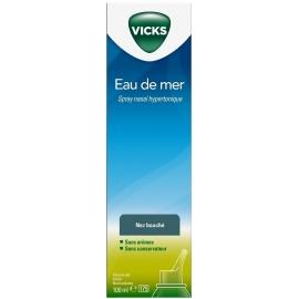 Vicks Nez Bouché Eau De Mer Hypertonique 100 ml