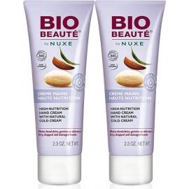 Nuxe Bio Beauté Crème Mains Haute Nutrition 2x50 ml