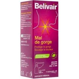 Belivair Mal de Gorge Collutoire 20 ml
