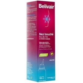 Belivair Nez Bouché Eau de Mer Hypertonique 125 ml