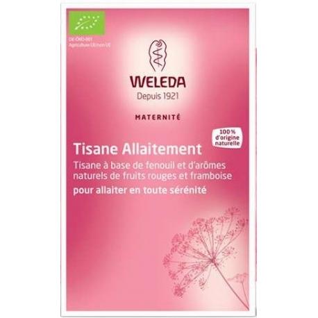 Weleda Tisane Allaitement Fruits Rouges 20 Sachets