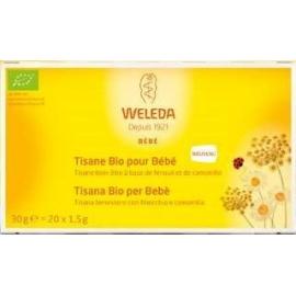 Weleda Tisane Bio Pour Bébé 20 Sachets