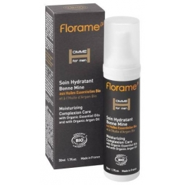 Florame Homme Soin Hydratant Bonne Mine Bio 50 ml
