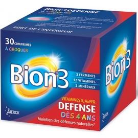 Bion 3 Défense Juniors 30 Comprimes a Croquer