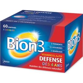 Bion3 Défense Juniors 60 Comprimés à Croquer