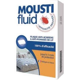 Moustifluid Plaque Anti-Acariens & Anti-Punaises De Lit x 1