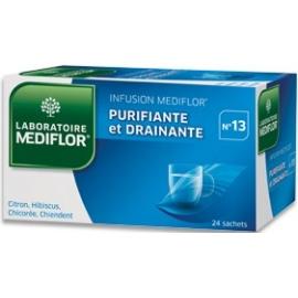 Mediflor n°13 Infusio Purifiante et Drainante x 24 Sachets