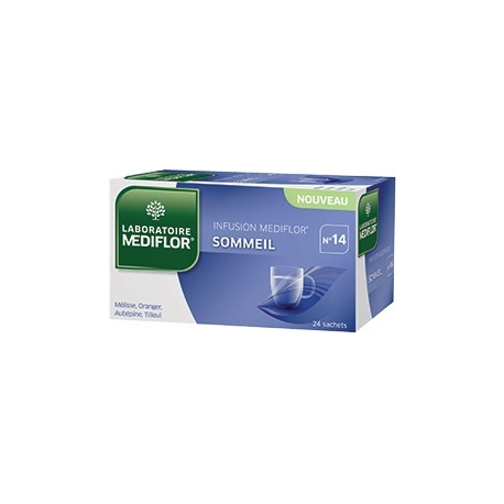 Mediflor N°14 Infusion Sommeil x 24 Sachets