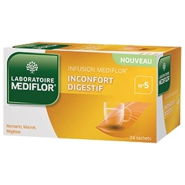 Mediflor N°5 Infusion Inconfort Digestif x 24 Sachets