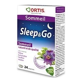 Ortis Sommeil Sleep & Go 24 Comprimés