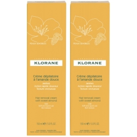 Klorane Creme Depilatoire Tres Douce 2 X 150ml