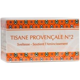 la Tisane Provencale N°2 Soutient a L'amincissment 20 Sachets