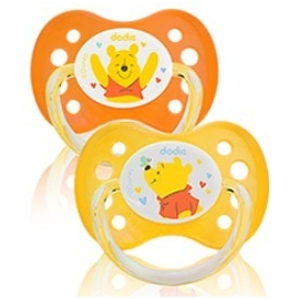 Dodie Sucette silicone 0-6 mois Winnie x 2