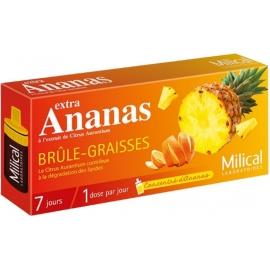 Milical Extra Ananas Brûle-Graisses 10 ml x 7 Doses