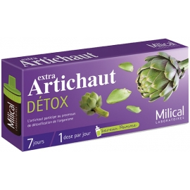 Milical Extra Artichaut Détox 10 x 7 doses