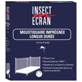 Insect Ecran Moustiquaire Imprégnée Longue Durée 2 places