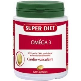Super Diet Oméga 3 Cardio-Vasculaire 120 Capsules