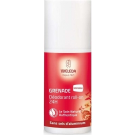 Weleda Grenade Déodorant Roll-on 24 h 50 ml