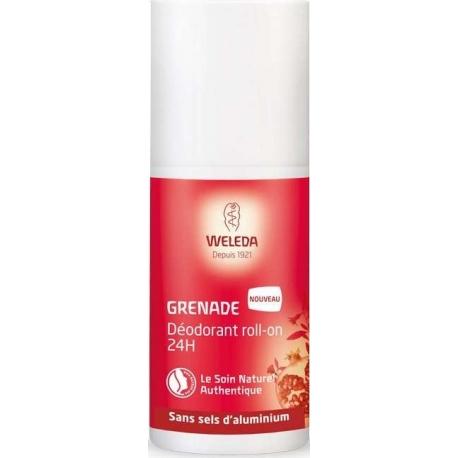 Weleda Grenade Déodorant Roll-on 24 h 50 ml