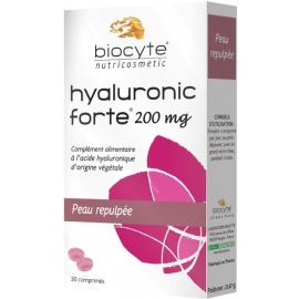 Biocyte Nutricosmetic Hyaluronic Forte 200 mg 30 Comprimés