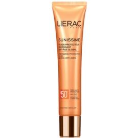 Lierac Sunissime Fluide Protecteur énergisant Anti-âge Global Spf 50 40 ml