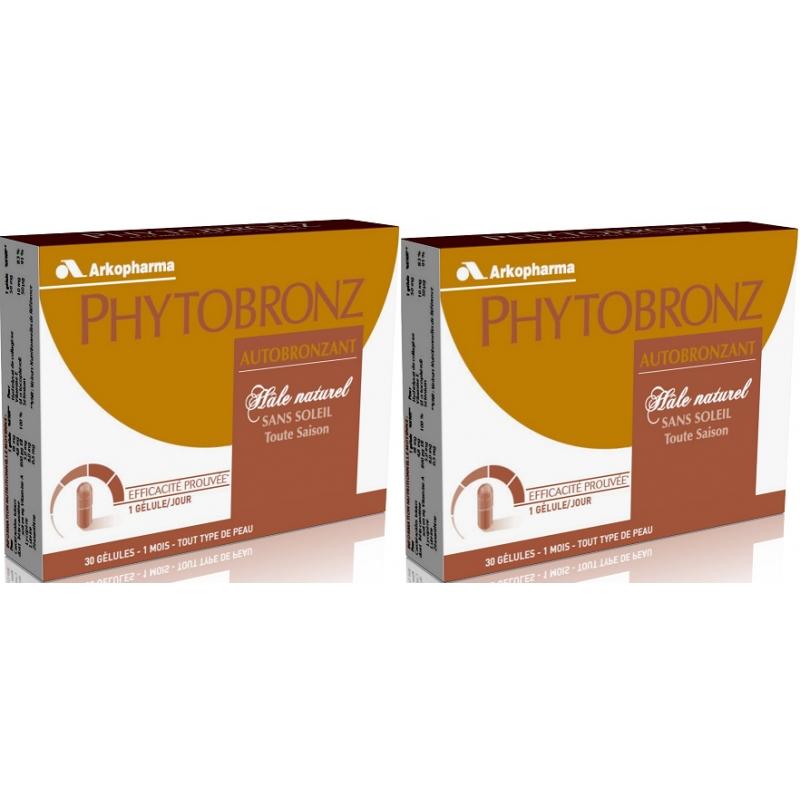 arkopharma phytobronz autobronzant 2 x 30 capsules. Black Bedroom Furniture Sets. Home Design Ideas