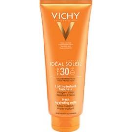 Vichy Ideal Soleil spf 30 lait hydratant fraîcheur 300 ml