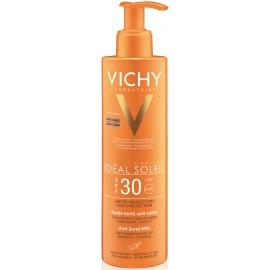 Vichy Idéal Soleil Spf 30 Fluide Lacté Anti-sable 200 ml