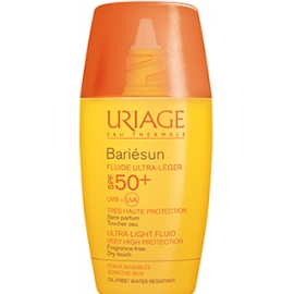 Uriage Bariésun Spf 50 Fluide Ultra-léger 30 ml