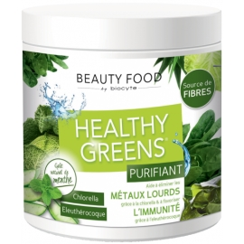 Biocyte Beauty Food Health Greens Purifiant Poudre à Diluer 208g