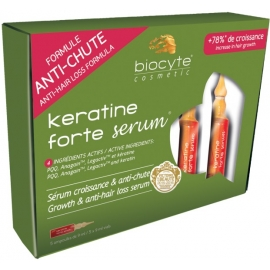 Biocyte Cosmetic Keratine Forte Sérum Ampoules 5 x 9 ml