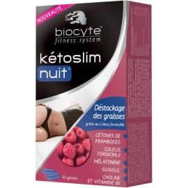 Biocyte Fitness System Kétoslim Nuit Déstockage Des Graisses 60 Gélules