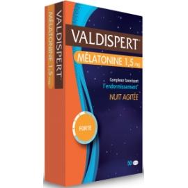 Valdispert Melatonine Bonne Nuit 50 comprimés