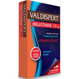Valdispert Mélatonine 1.9 mg Comprimés Orodispersibles x 40